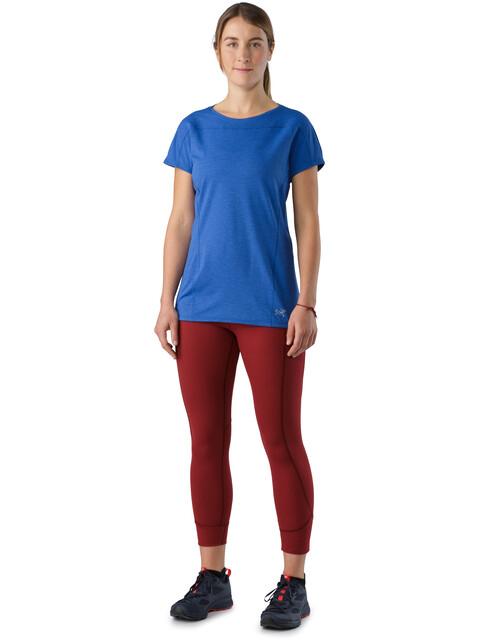 Arc'teryx Taema t-shirt Dames blauw
